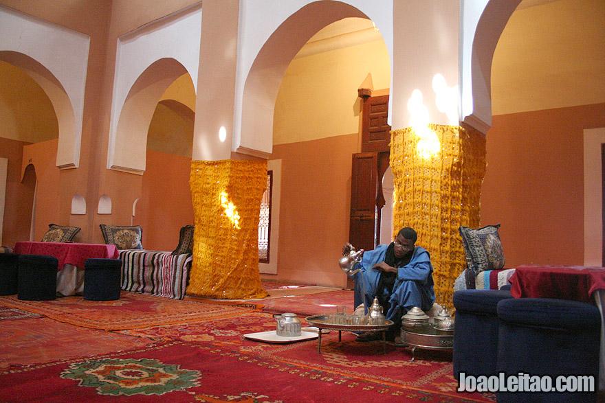 Kasbah Tifoultoute in Ouarzazate