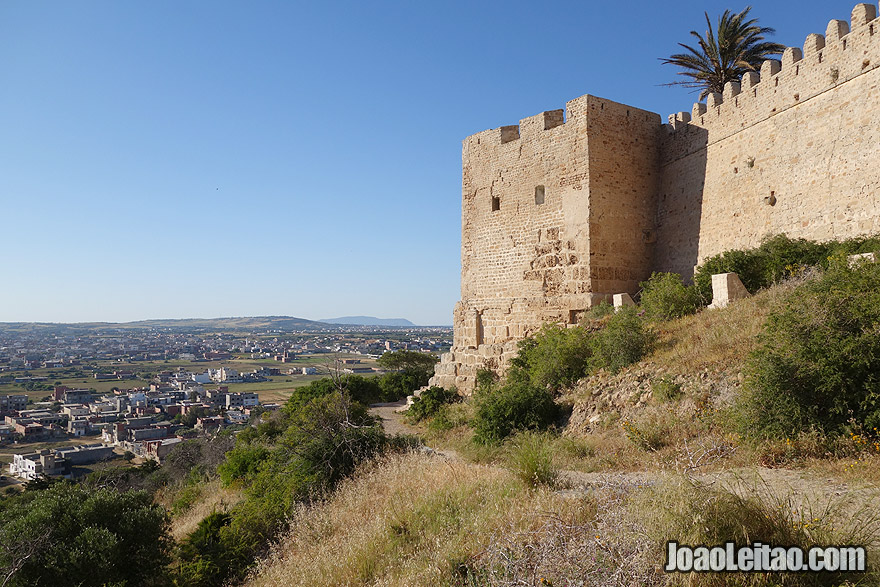 Castelo de Kelibia, na Tunísia