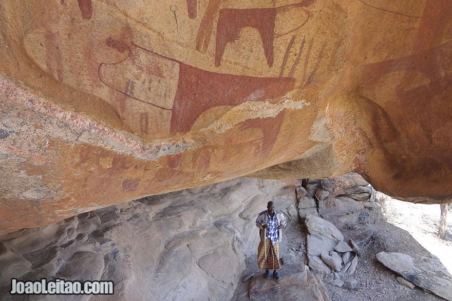 Laas Geel Rock Paintings in Somaliland