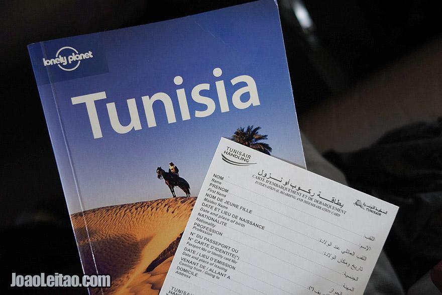 Guia de viagem à Tunísia, Lonely Planet