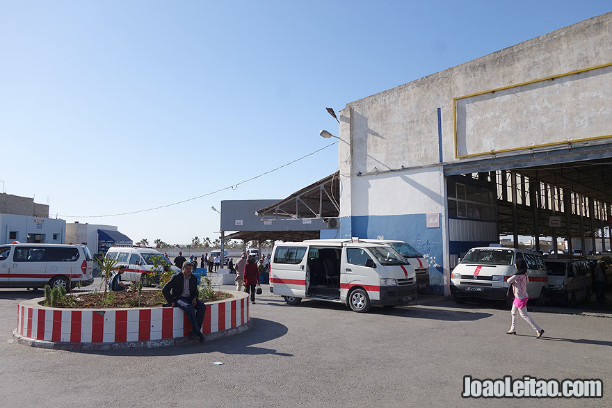 Louage de Sousse para Kairouan