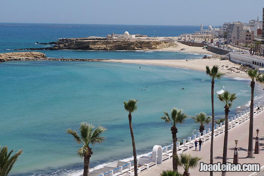 Praia de Monastir, na Tunísia