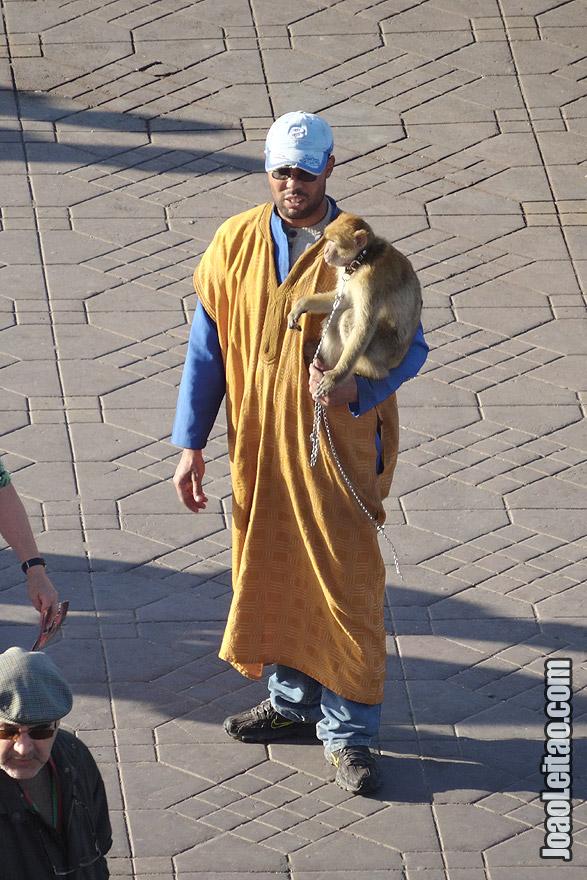 Domadores de macacos de Marraquexe