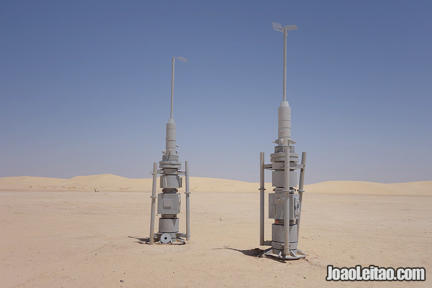 Mos Espa Star Wars movie set in Tunisia