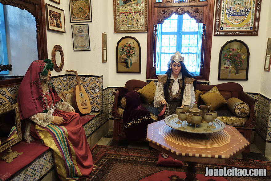 Casa Museu Dar el-Annabi em Sidi Bou Said