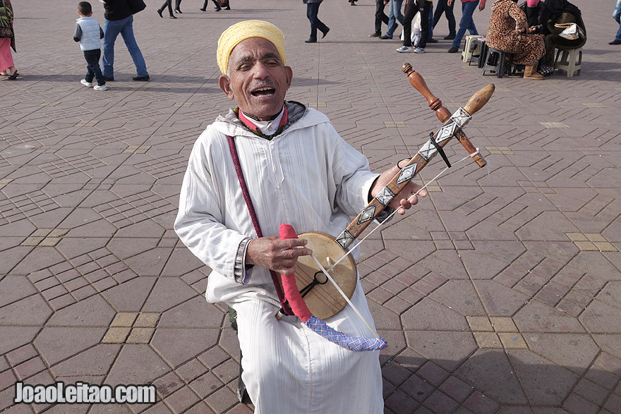 Musician of Marrakesh