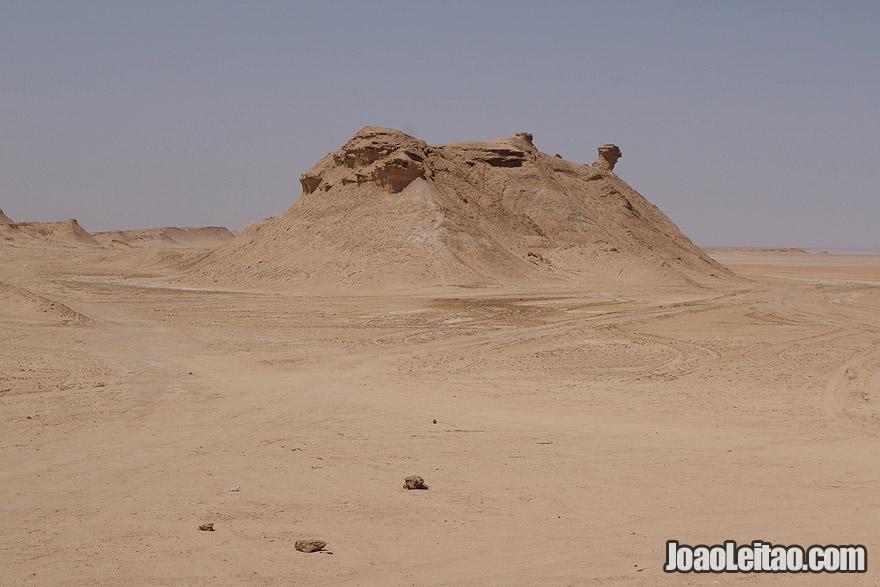 Montanha Ong Jmel, na Tunísia