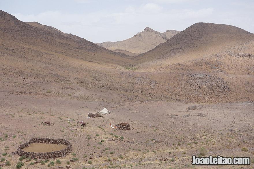 Ouarzazate nomad camp
