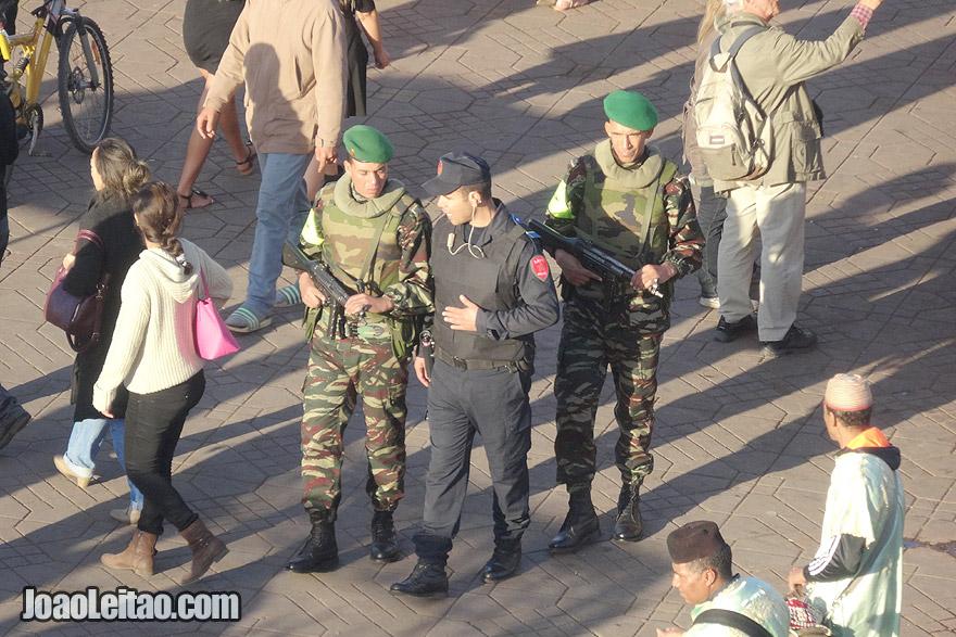 Polícia de Marraquexe