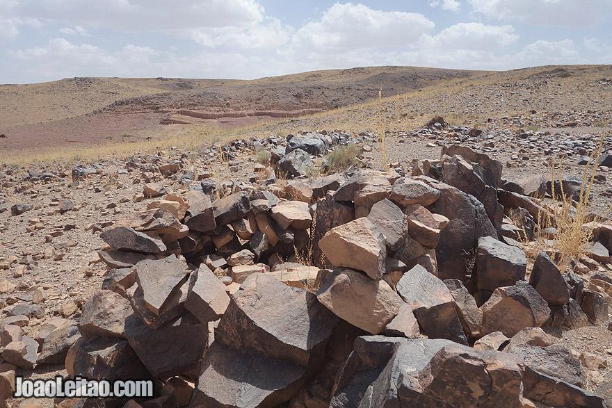 Pre-Islamic tombs near Ouarzazate