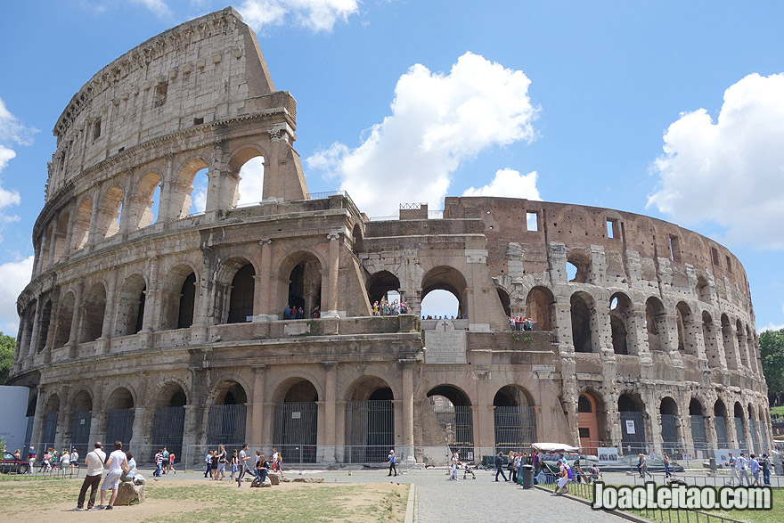 The Colosseum in Rome