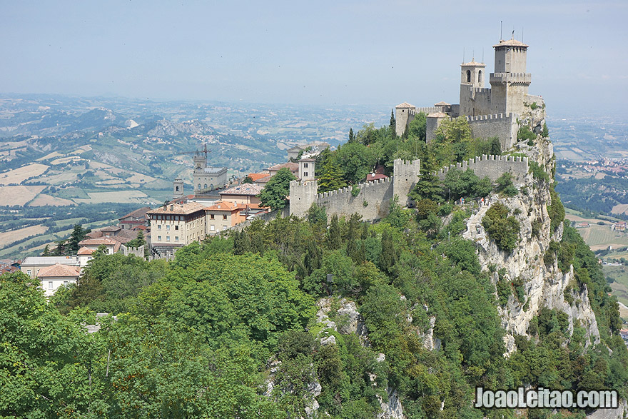 Fortress of Guaita in San Marino
