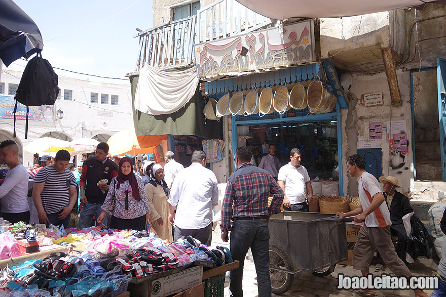 Medina de Sfax, na Tunísia