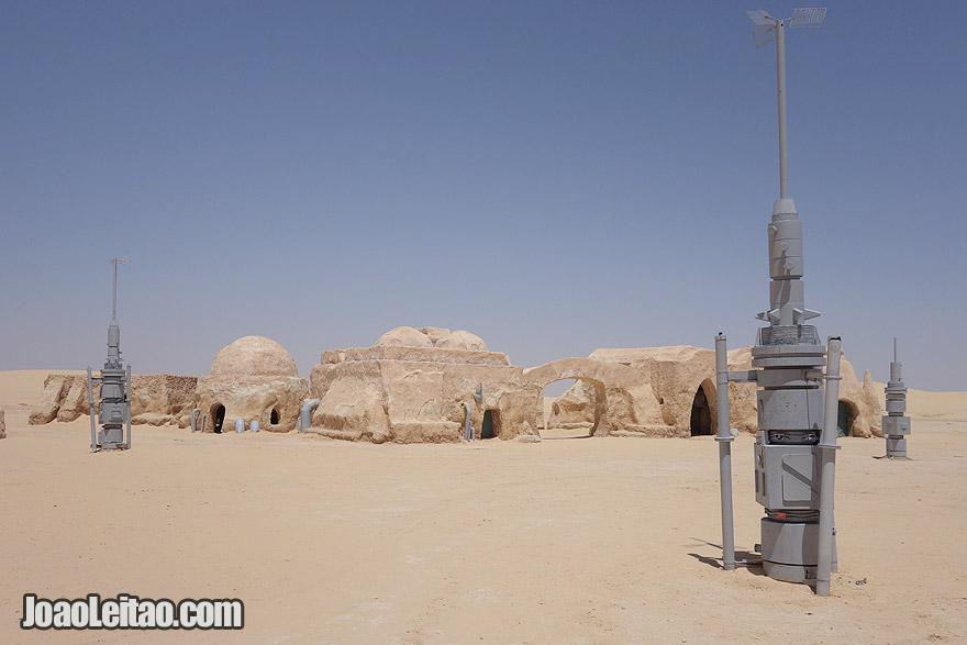 Mos Espa, cenário do filme Guerra das Estrelas, na Tunísia