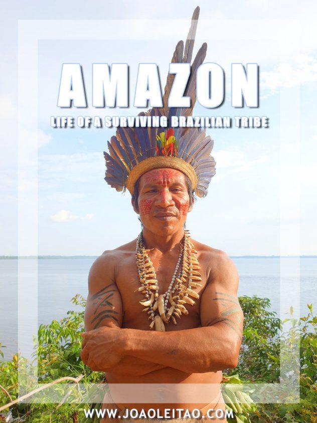 Tatuyo Indian Chief in Brazil
