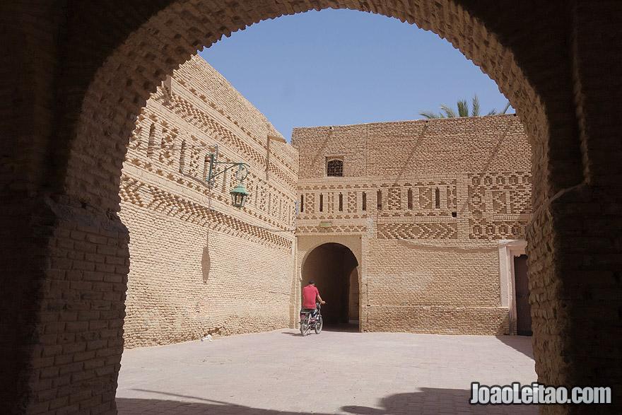 Cidade antiga de Tozeur, na Tunísia