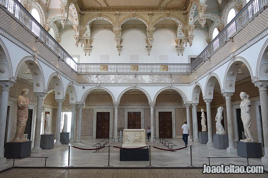 Museu Nacional do Bardo em Tunes