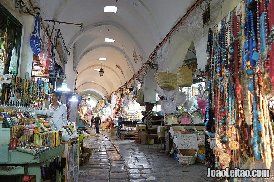 Medina de Tunes, na Tunísia