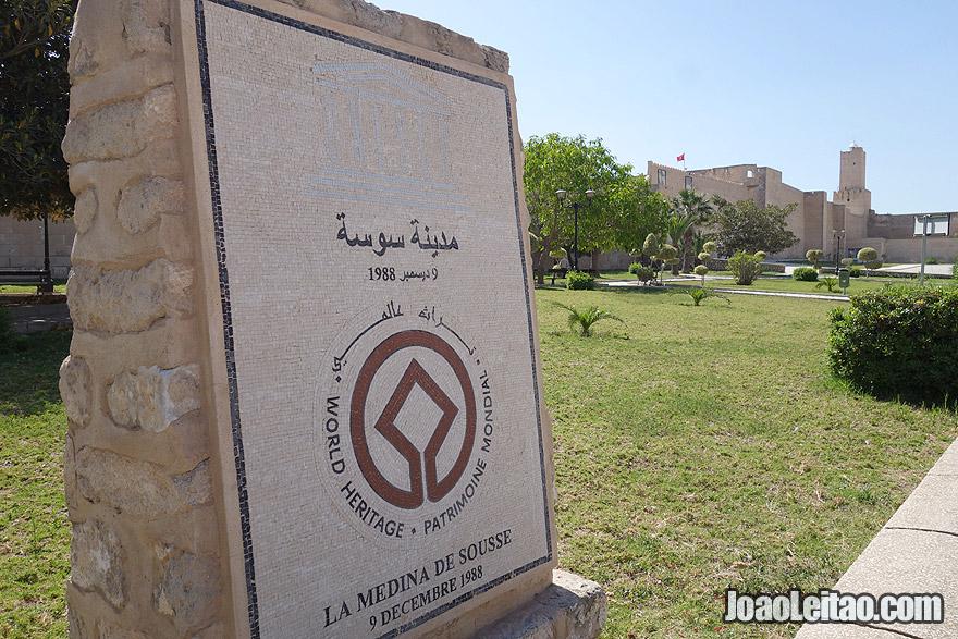 Locais inscritos como Património Mundial da UNESCO na Tunísia