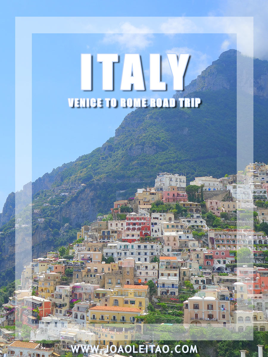 Driving in Italy &  San Marino - Venice to Rome Road Trip