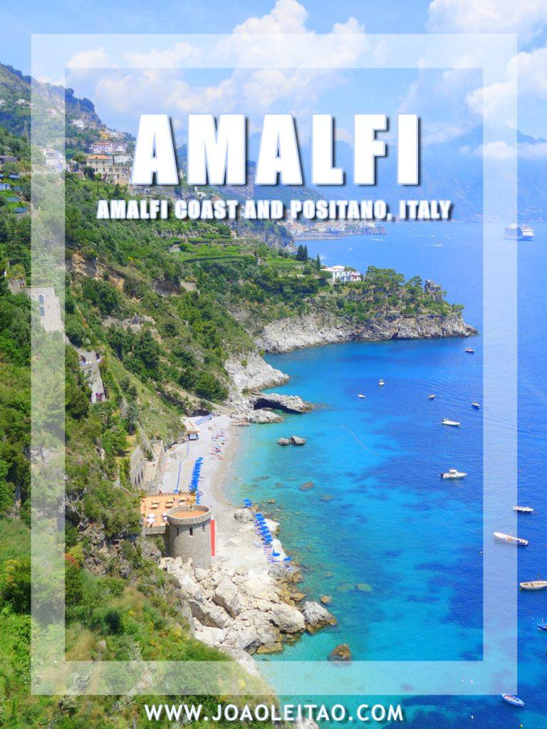 Amalfi coast in the Tyrrhenian Sea – Italy