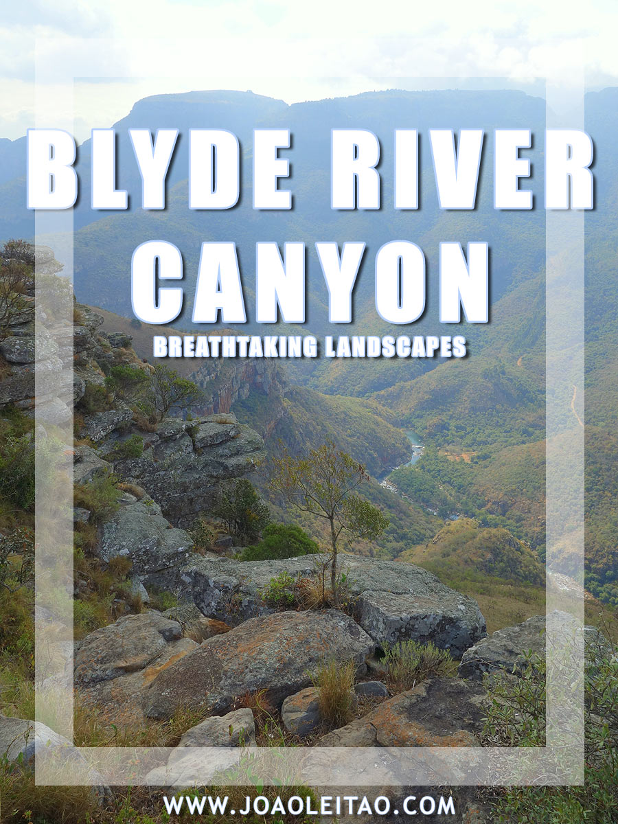 Breathtaking landscapes of Blyde River Canyon in South Africa