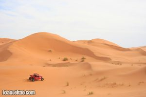 Erg Chebbi dunes in the Sahara Desert – Morocco
