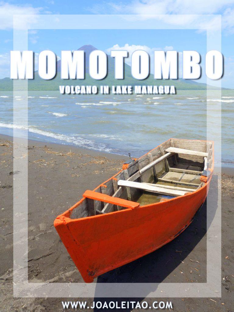 Momotombo volcano and Lake Managua – Nicaragua
