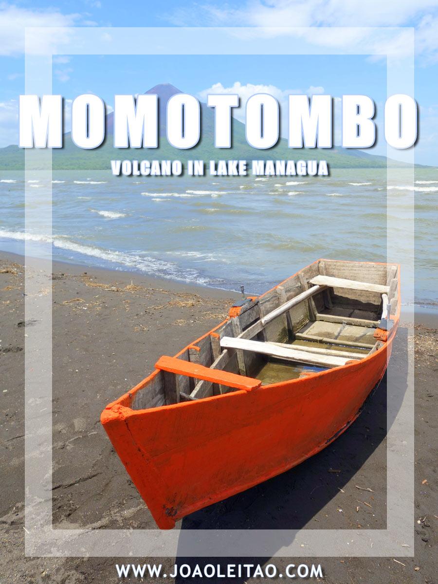 Incredible Momotombo Volcano and Lake Managua in Nicaragua