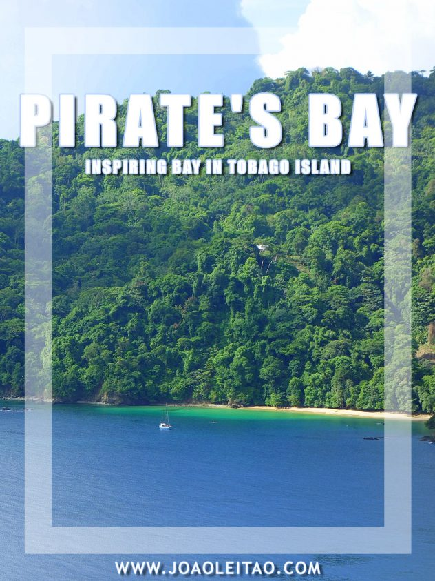Inspiring Pirate's Bay of Charlotteville in Trinidad and Tobago