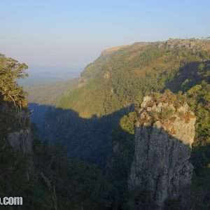 Pinnacle Rock in Blyde River Canyon