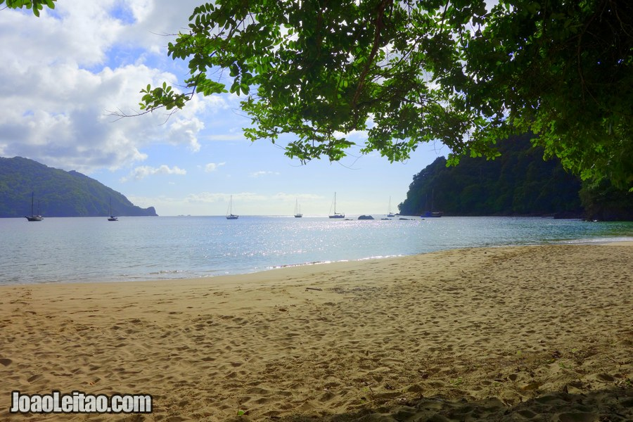 Pirate's Bay in Charlotteville – Trinidad and Tobago