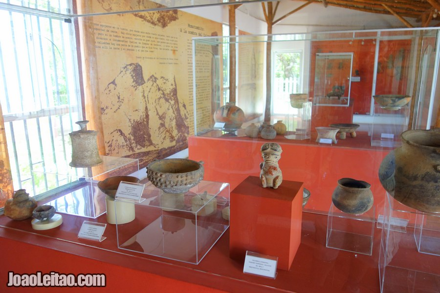 Museum of the Ruins Leon Viejo archaeological complex