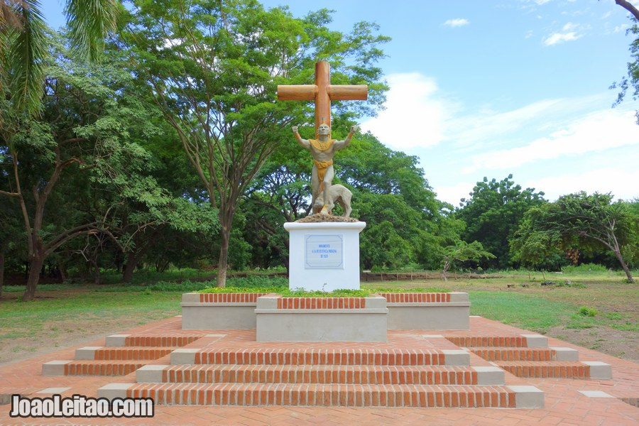 Monument of the Indigenous Resistance in Leon Viejo