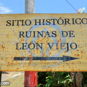 Ruins of Leon Viejo in Nicaragua