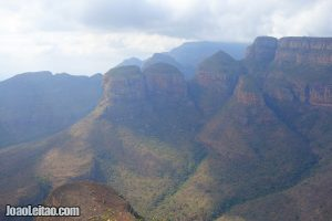 Three Rondawels in Blyde River Canyon