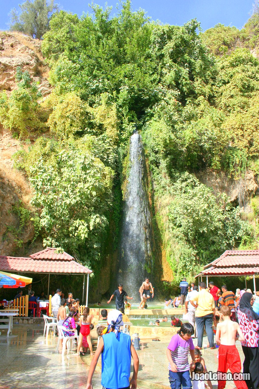 Waterfalls in Aqrah, Hitchhiking in Iraqi Kurdistan