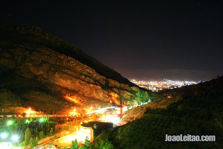 View of Dohuk by night