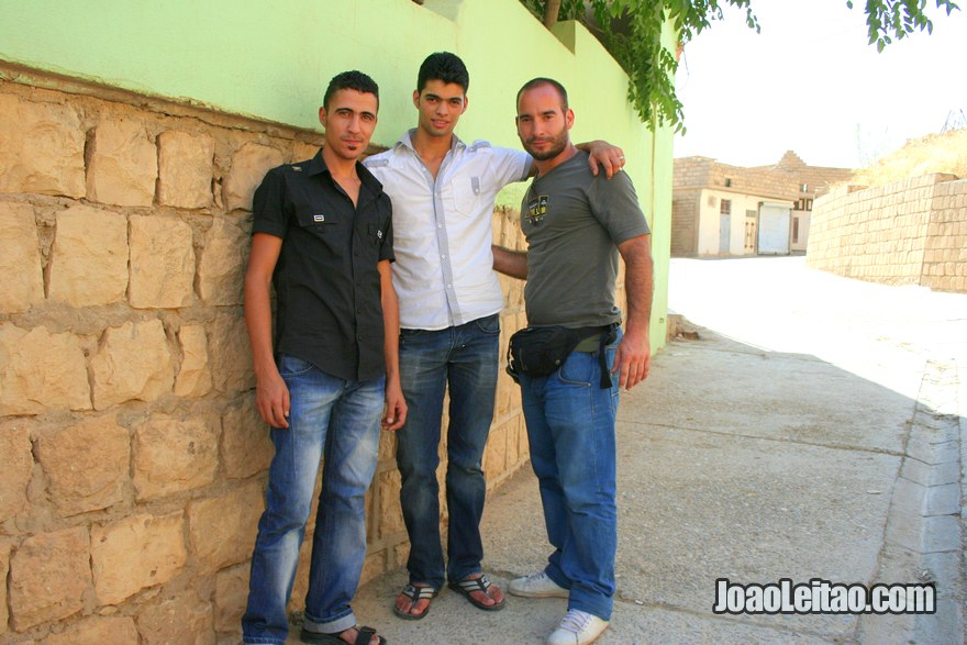 Making friends in Iraqi Kurdistan