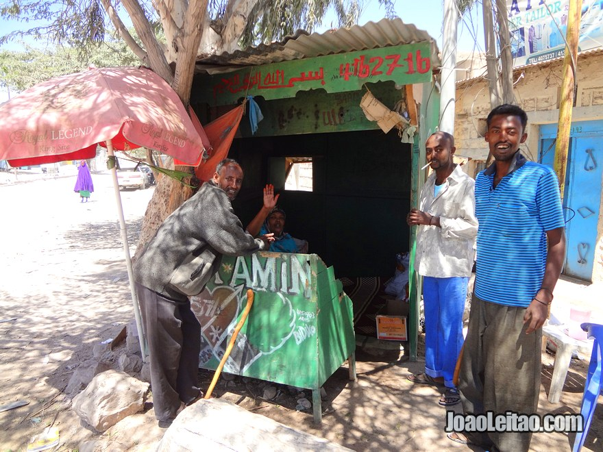 People in Hargeisa, Somaliland