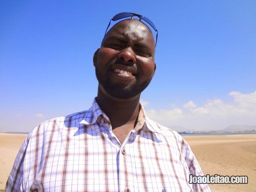 Friendly man in Berbera city, Somaliland
