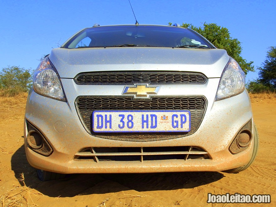 Where can I rent a car or 4WD in South Africa?