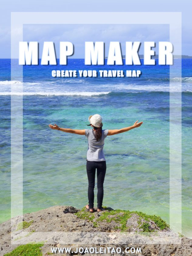 Visited Countries Map Maker - Create your Travel Map