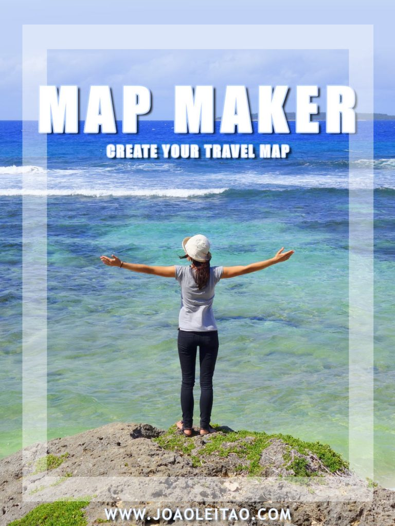 Visited countries map maker – Create your travel map