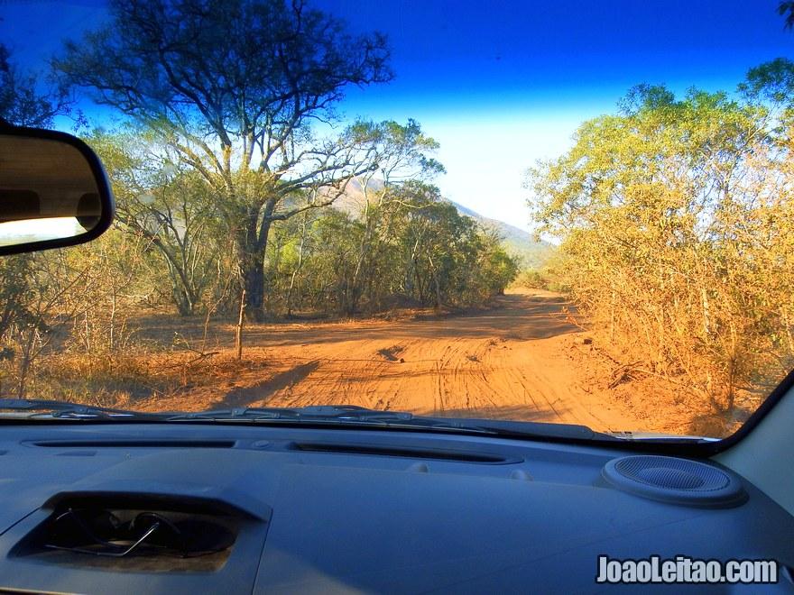 Viajar de carro na África do Sul