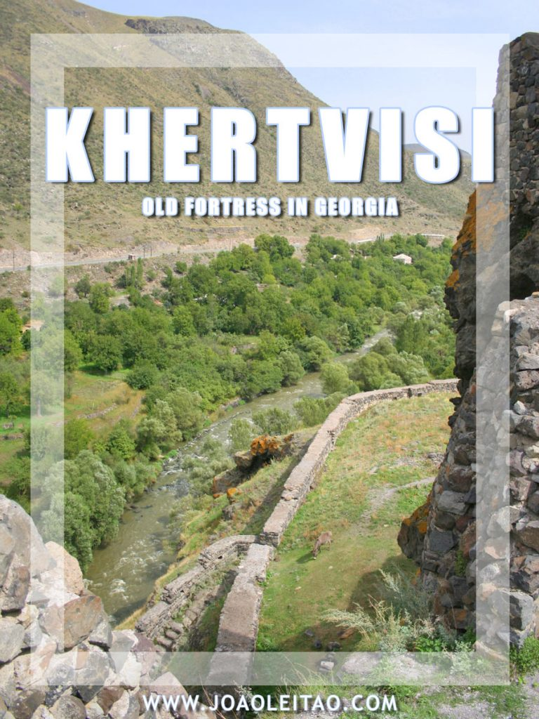 Khertvisi – Georgia, the stunning 2,500-year-old fortress