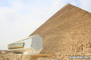 Exterior view of the Solar Barque Museum