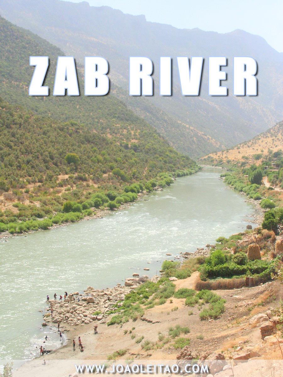 Zab river, Iraq