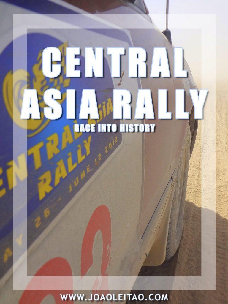 Central Asia Rally – 6500 km / 4000 mi road trip adventure