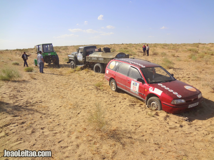 Central Asia Rally • 6500 km Road Trip Adventure